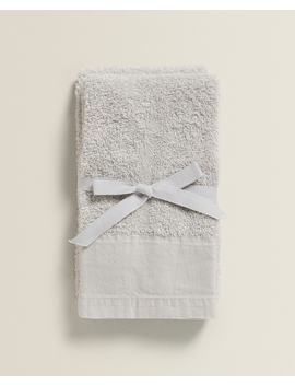 Faded Towel (Pack Of 2) Towels   Bathroom by Zara Home