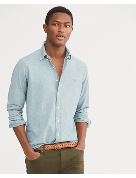 Classic Fit Chambray Shirt by Ralph Lauren