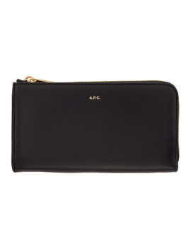 Navy Lise Continental Wallet by A.P.C.