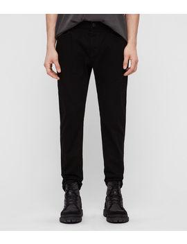 Carter Straight Jeans, Jet Black by Allsaints