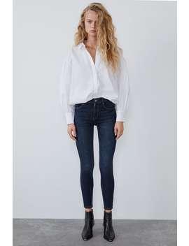 Skinny Traperice Visokog Struka Vintage Stila by Zara