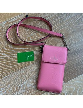 New Kate Spade Larchmont Avenue North South Phone Wallet Crossbody by Kate Spade New York