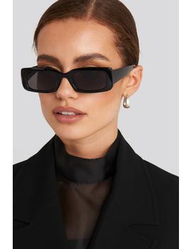 Wide Retro Look Sunglasses Black by Na Kd Accessories