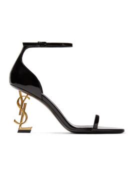 Opyum 漆皮凉鞋 by Saint Laurent