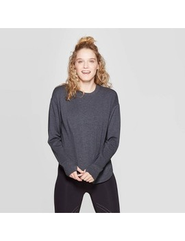 Women's Cozy Curved Hem Sweatshirt   Joy Lab™ by Joy Lab