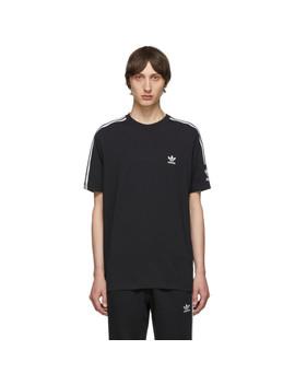 Black & White Lock Up Logo T Shirt by Adidas Originals