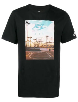 футболка с принтом Swoosh by Nike