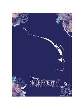 Maleficent 2 2019 Clear File Folder A4 Size 2 Pockets Stationery Disney Japan by Ebay Seller