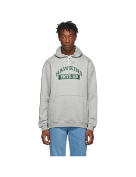 Pull à Capuche Gris 'hawkins High' édition Stranger Things by Nike