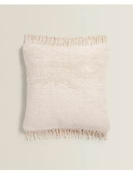 Throw Pillow With Fringe Throw Pillows   Living Room by Zara Home