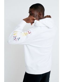 Levi's Horse Logo White Hoodie by Levi's