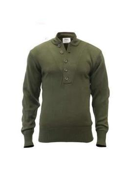 G.I. Style 5 Button Acrylic Sweater by Rothco