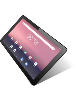 """I View 10.1"""" Tablet, Android 8.1 Go Edition, Quad Core, 16 Gb Storage, Micro Hdmi, Dual Cameras, Pink by I V Iew"""