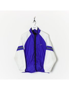Nike Shell Suit Jacket Purple/White Large by Nike