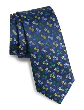 Floral Silk Tie by Ted Baker London