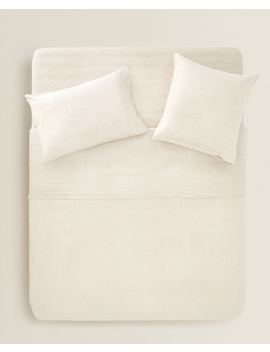 Washed Linen Duvet Cover Duvet Covers   Bed Linen   Bedroom by Zara Home