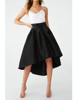 Pleated High Low Skirt by Forever 21