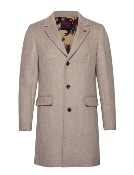 Classic Single Breasted Coat by Scotch & Soda