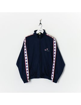 Champion Track Jacket Navy Large by Champion