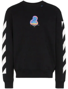 Thermo Striped Sweatshirt by Off White