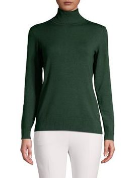 Turtleneck Knit Sweater by Context