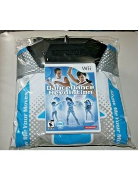 Wii Dance Dance Revolution Game With Mat Pad Controller. by Ebay Seller