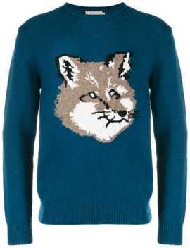 Fox Head Sweatshirt by Maison Kitsuné