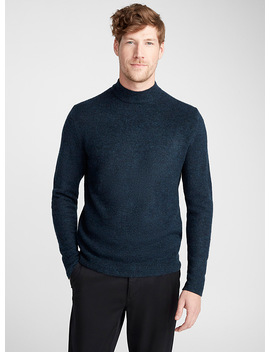 Minimalist High Neck Sweater by Le 31