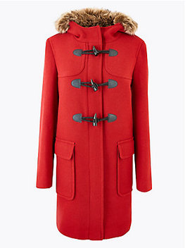 Hooded Duffle Coat by Standard Tracked Delivery