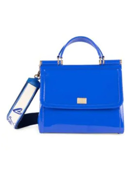 Sicily Pvc Top Handle Bag by Dolce & Gabbana