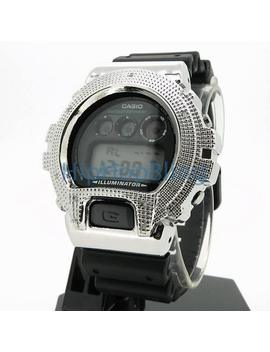 Real Diamond .10cttw Custom G Shock Watch by Hip Hop Bling
