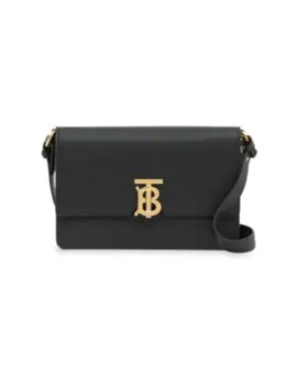 Albion Tb Leather Crossbody Bag by Burberry