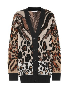Exclusive To Mytheresa – Animal Jacquard Cardigan by Stella Mc Cartney