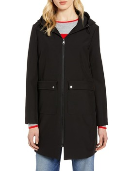 Hooded Raincoat by Halogen®
