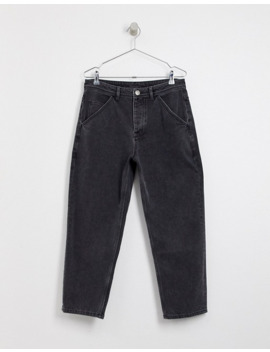 Crooked Tongues – Svarttvättade Jeans Med Classic Fit by Crooked Tongues