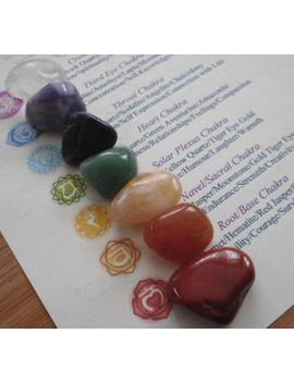 Chakra Healing Crystals 7 Chakra Crystals With Information And Pouch by Etsy