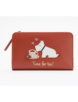 Radley London Leather Time For Tea Medium Wallet by Radley London