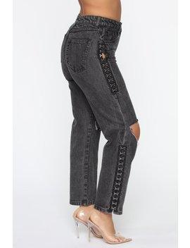 Just How You Like It Jeans   Black by Fashion Nova