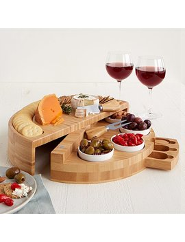Compact Swivel Cheese & Tapas Board by Uncommon Goods