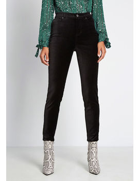 Simply Divine Velvet Skinny Pants by Modcloth