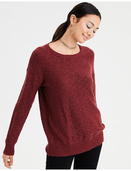 Ae Open Back Oversized Sweater by American Eagle Outfitters