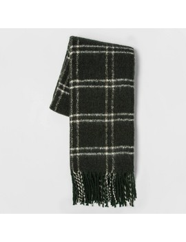 Faux Mohair Grid Throw Blanket   Threshold™ by Shop Collections