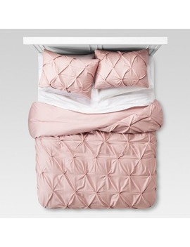 Pinch Pleat Duvet Cover & Sham Set   Threshold™ by Shop Collections