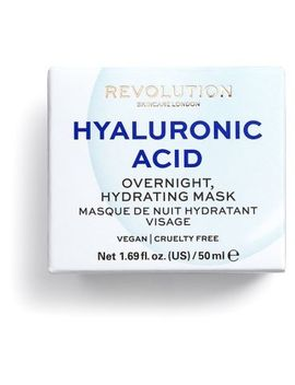 Revolution Skincare Hyaluronic Acid Overnight Hydrating Face Mask 50g by Revolution
