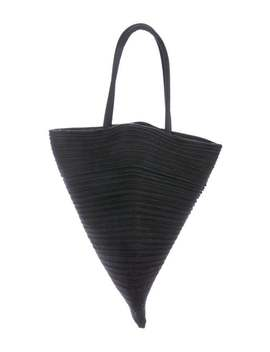 Woven Handle Bag by Pleats Please Issey Miyake