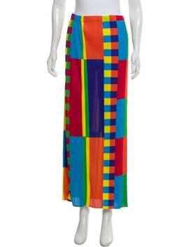 Pleated Midi Skirt by Pleats Please Issey Miyake
