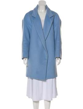 Heavyweight Notch Lapel Coat by Jacquemus