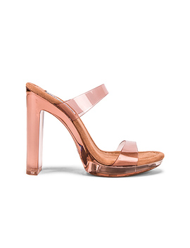 Glassy Mule In Tan by Steve Madden