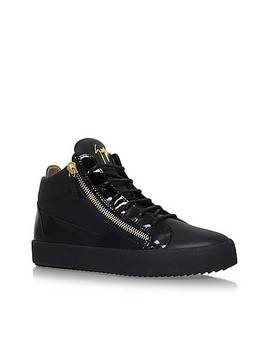 Mixed High Top Trainers by Giuseppe Zanotti