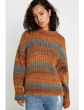 Uo Ombre Stripe Jumper by Urban Outfitters